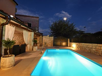 Photo for VILLA LORY STONE HOUSE WITH PRIVATE POOL
