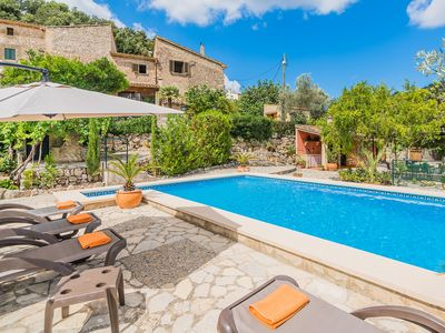 Photo for Villa with private pool, free WiFi,in a very peaceful