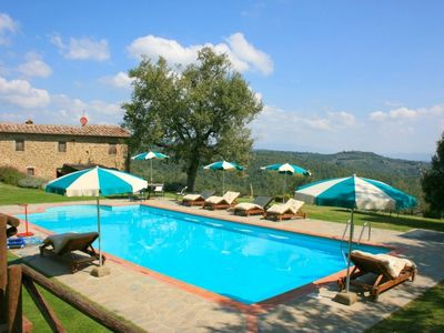 Photo for 3 bedroom Villa, sleeps 6 in Ciggiano with Pool and WiFi