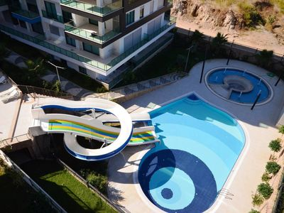 Photo for Konak Seaside Resort 2+1 Luxury Apartments