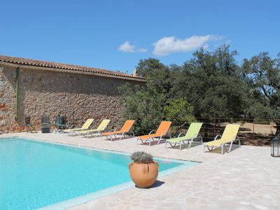 Photo for 4 bedroom Villa, sleeps 8 in Costitx with Pool and WiFi