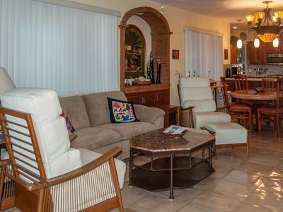 Photo for Beautiful Ocean view Garden level 2 Bed Condo, Heated pool, Jacuzzi