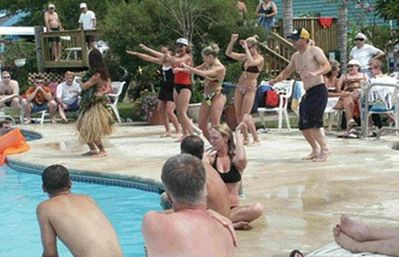 Always a Great Time at the pool.
