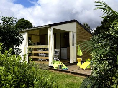 Photo for Camping Le Colombier - Cottage Toilé 3 Rooms 4 Persons