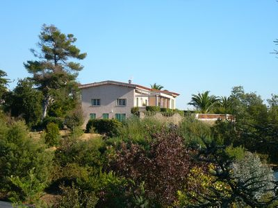 Photo for Nice  property offering  gorgeous views on the Esterel and the bay of Cannes