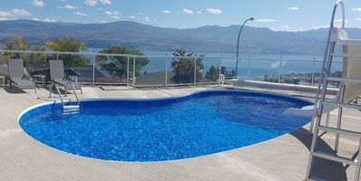 Photo for Beautiful West Kelowna Home with saltwater pool and breathtaking view