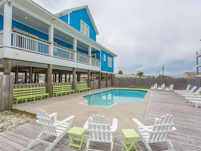 Photo for OPEN April 5th-18th! Dbl Spring Special! ONLY $750/nt Gulf View Home w/ POOL!