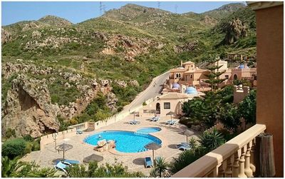 Photo for Moorish style mountain retreat with stunning views.