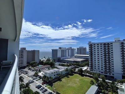 Photo for Modern Luxury Beachfront Hotel 1 Bedroom Corner with Views and 2 Balconies 9