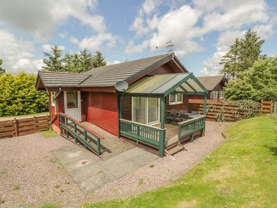 Photo for CHERRY LODGE, pet friendly, with a garden in Dumfries, Ref 18102