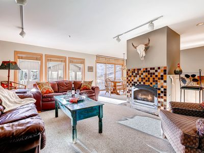 Photo for Beautifully Updated Condominium with Two Fireplaces and Private Hot Tub