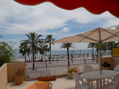 Photo for First Line Apartment,With Spectacular Sea View,Direct Access To Palma Nova Beach