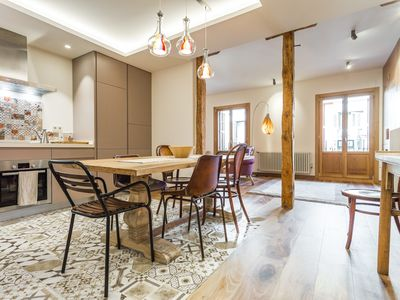Photo for Hipster & modern apartment for 6 situated in the trendiest area of Madrid
