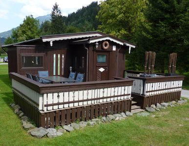 Photo for Cottage styled, wellness comfort and entertainment for children on 5-star camping