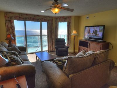 Photo for Malibu Pointe - 1205 Comfortably furnished 3-bedroom, 3-bathroom Malibu Pointe.