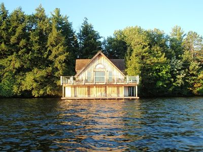 Wake up to the calls of the loons then enjoy your Muskoka holiday times.