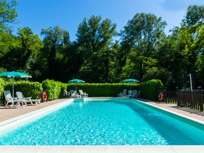 Photo for Farmhouse in Gubbio with Jacuzzi, Swimming Pool, Garden
