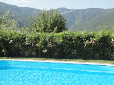 Photo for Beautifully renovated village stone  house with  pool and amazing  views