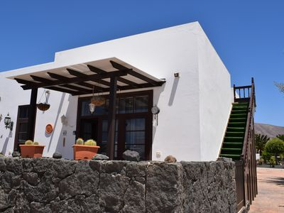 Photo for Beautiful 2 bed villa, roof terrace & Sea Views , Free Wifi, 5 mins walk to bars