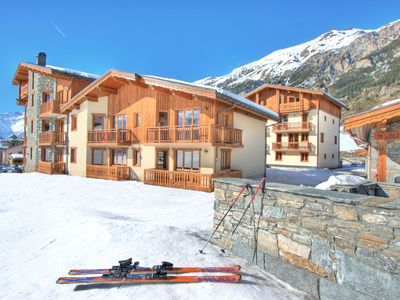 Photo for Comfortable apartment at the ski slopes in known Val Cenis