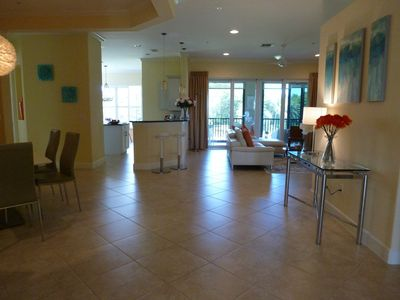 Photo for Luxurious Contemporary 2750 Sq Ft Coach home at Players Cove, Lely Resort