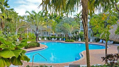 Large pool in the middle of the Coral Hammock complex.  - Large pool lies in the middle of the Coral Hammock complex, just steps from your doorway...