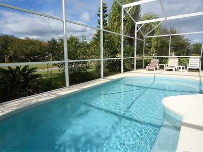 Photo for 4-Bedroom Orlando Vacation Pool Home,  near Disney & Free WIFI!