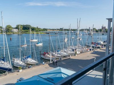 Photo for Apartment Hafenliebe No3 - Apartment house sea daughter directly on the Schlei