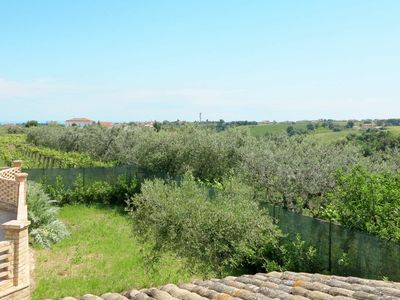 Photo for Lovely apartment in villa for 8 guests with pool, TV and parking