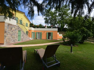 Photo for Cozy house surrounded by the greenery of the hinterland of Lake Garda