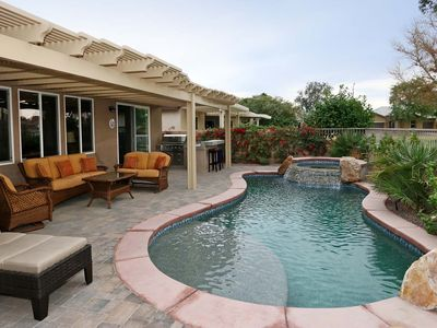 Photo for Desert Gem with private pool minutes from festival grounds