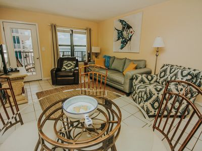 Photo for 2 Bedroom Condo On the Beach - New Updates -Beach Service-Free Wifi