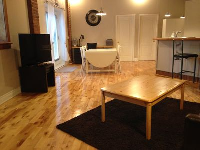 Photo for Plateau Mt-Royal - Large apartment near the Metro with garden