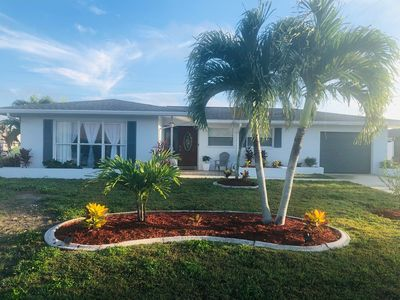 Photo for Cape Coral Gulf Access Canal and Pool Home
