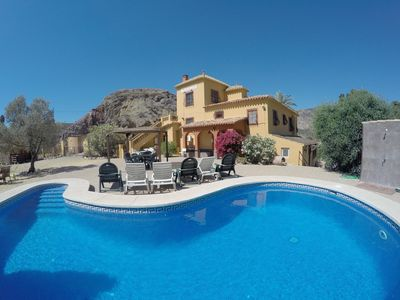 Photo for Large Family Friendly Villa As Seen On BBC, Pool And Gardens, Hens And Stags Welcome