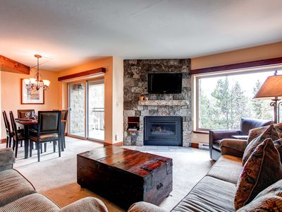 Photo for 20% Off! Underground Parking, Wi-Fi, Gas Fireplace, Private Balcony, Pool Access