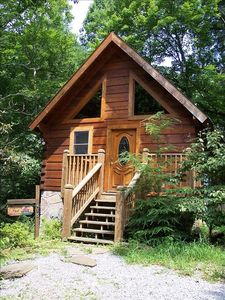 Sensational Cozy Romantic Log Cabin Jacuzzi Very Private Deck W Hot Tub Gatlinburg Download Free Architecture Designs Scobabritishbridgeorg