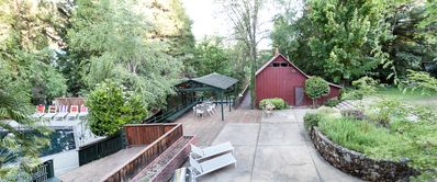 Photo for Secluded 'Barn' sleeps 4, updated with full-kitchen, 2-block walk to Downtown