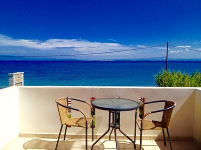 Photo for Seaside Villa, 2 bedrooms, Lesbos Island Greece