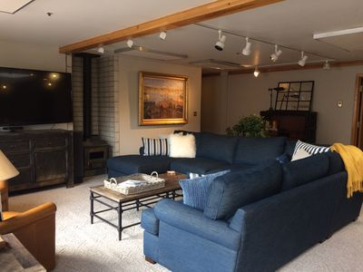Relax with your friends and family in the open concept  living room