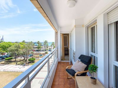 Photo for Luxury Apartment in the heart of the Huelin district, 200 meters from the beach