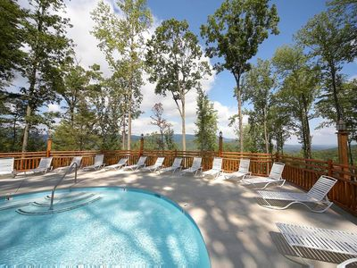 Photo for Fall Discounts! Pigeon Forge Cabin. Hot Tub. Wifi. Hot Tub. Pool Access.Arcade