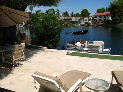 Photo for Beautiful Tempe Waterfront Home With Many Extras