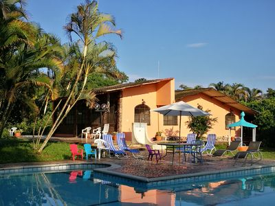 Photo for AMAZING villa LA MAGDALENA 13 BR · BTH- private POOL -  BIG traditional property