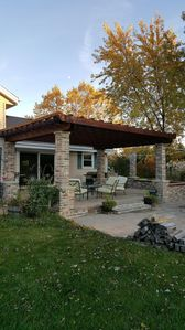 Photo for Across from Erin Hills Golf Course. Relaxing and private