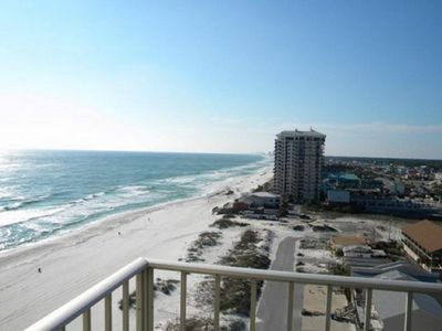 Photo for Beautiful ocean and sunset views from the balcony - Panama City Beach, FL