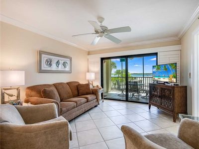 Photo for Carlos Pointe 121, 2 Bedrooms, Gulf Front, Elevator, Sleeps 6, Heated Pool