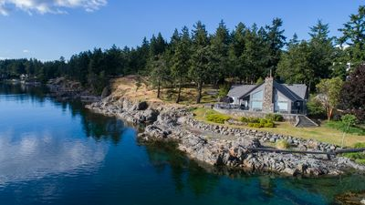 Photo for BEST PANORAMIC OCEANSIDE VIEWS ON VAN ISLAND - PRIVATE LUXURY ESTATE W HT