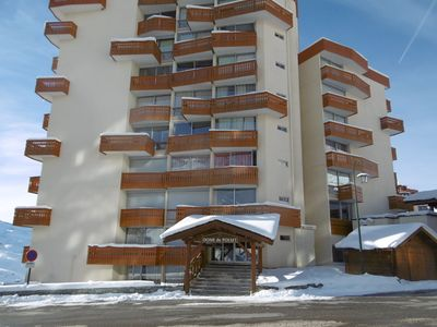 Photo for Renovated apartment for 6 people, ground floor overlooking piste