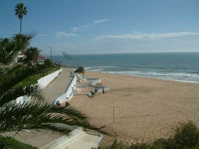 Photo for Spacious apartment 150 meters from the beach.